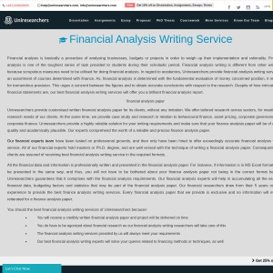 Custom Finance Writing Service