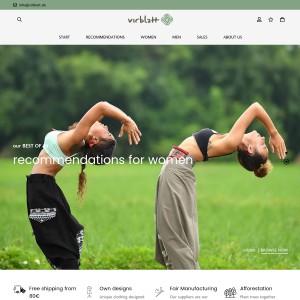 Haremshosen und Aladinhosen Online Shop