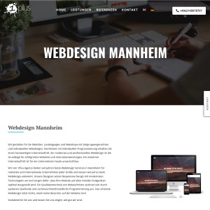 Webdesign Weinheim und Webdesign Bensheim