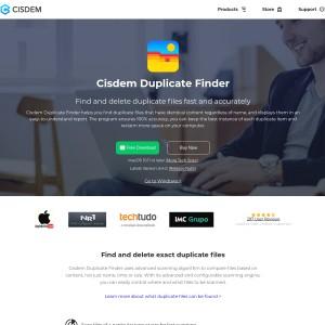 Cisdem Best duplicate file finder Mac to find duplicate files on Mac