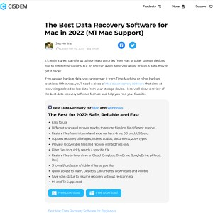 The Best Data Recovery Software for Mac (2018 Edition)
