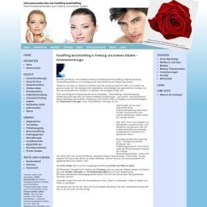 Informationsseiten über das Facelifting, Gesichtslifting. Finden Sie den Arzt i