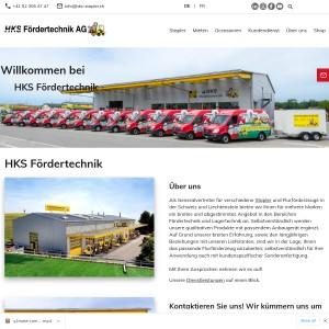 HKS Fördertechnik AG - Elektrostapler