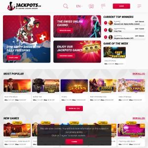 Grand Casino Baden AG JackPots - Online Casino