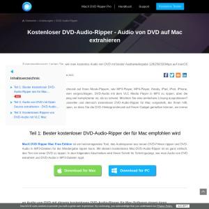 DVD Audio Extractor Anleitung: Wie Sie DVD Audio extrahieren