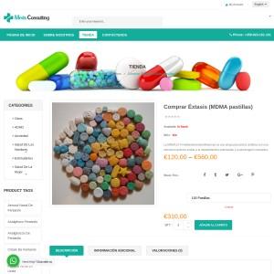 Comprar MDMA / Éxtasis / Molly