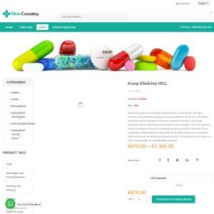 Koop Efedrine HCL online