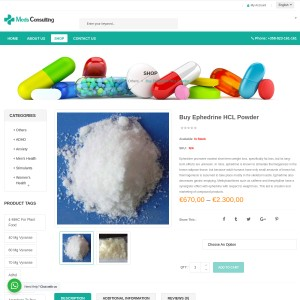 Buy Ephedrine HCL Powder