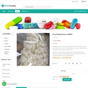Buy Mephedrone online