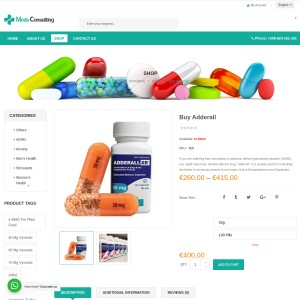 Buy Adderall for ADHD