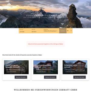 Ferienwohnungen Zermatt