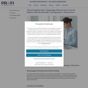 Übersetzungsbüro, Übersetzungsagentur