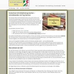Schrottabholung Aachen | Fachgerechte Schrottentsorgung