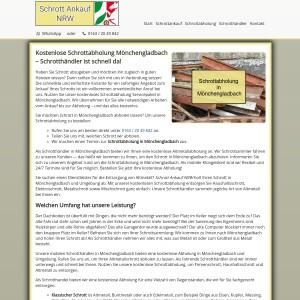 Schrottabholung Mönchengladbach | Zum Wunschtermin