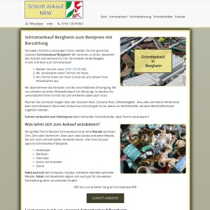 Schrottankauf Bergheim | Altmetallankauf | Abholung inklusive