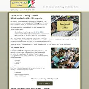 Schrottankauf Duisburg | Faire Schrottpreise | Guter Service