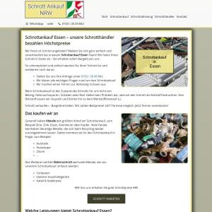 Schrottankauf Essen | Faire Schrottpreise | Guter Service