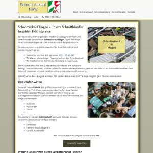 Schrottankauf Hagen | Faire Schrottpreise | Guter Service