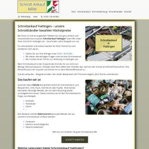 Schrottankauf Hattingen | Faire Schrottpreise | Guter Service