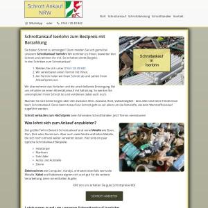 Schrottankauf Iserlohn | Altmetallankauf | Abholung inklusive