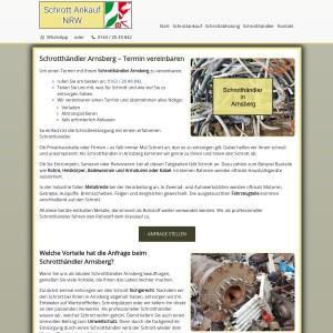 Schrotthändler Arnsberg | Schrottentsorgung mit Service