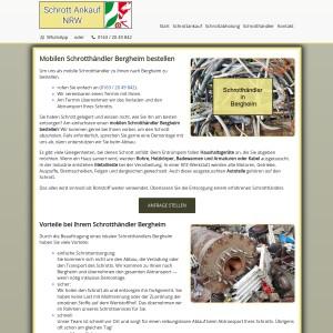 Schrotthändler Bergheim | Einfache Schrottentsorgung