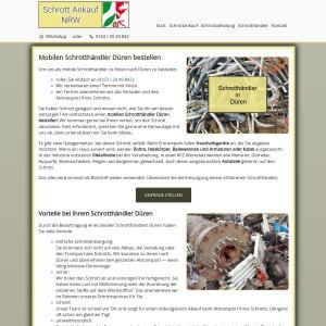 Schrotthändler Düren | Einfache Schrottentsorgung