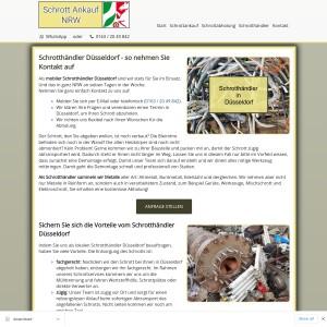 Schrotthändler Düsseldorf | Kostenlose Abholung | Fairer Ankauf
