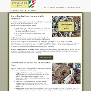 Schrotthändler Essen | Kostenlose Abholung | Fairer Ankauf