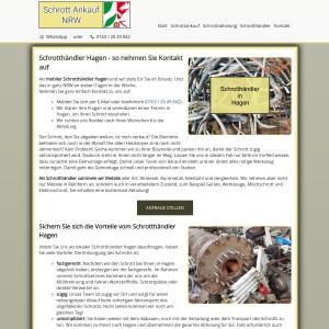 Schrotthändler Hagen | Kostenlose Abholung | Fairer Ankauf