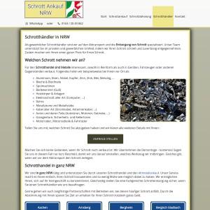 Schrotthändler in NRW | Fachgerechte Schrott Entsorgung