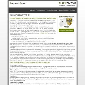 Schrottankauf Aachen | Faire Preise & guter Service
