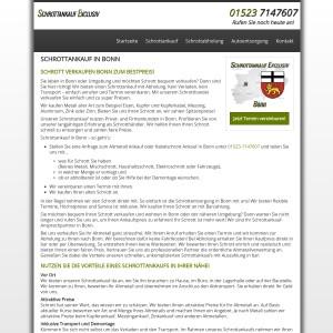 Schrottankauf Bonn | Attraktive Schrottpreise