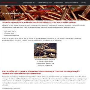 Schrottabholung Dortmund > Kostenlose Entsorgung