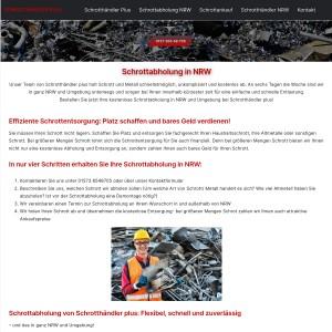 Schrottabholung NRW > direkt vor Ort