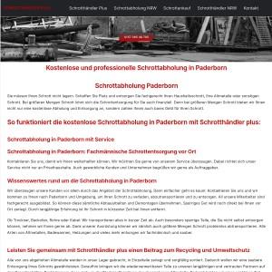 Schrottabholung Paderborn > direkt vor Ort