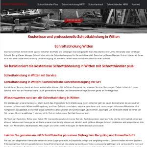 Schrottabholung Witten > Kostenlose Entsorgung