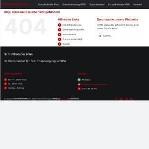 Schrotthändler Solingen > Schrott entsorgen vor Ort
