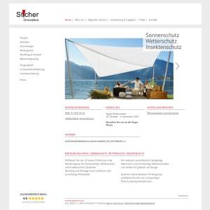 Sticher-Innovation - Ihr Partner für Sitzplatzüberdachung