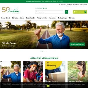 Vitapower AG - Datteln, Kokosöl und Kurkuma