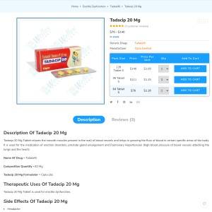 Tadacip – Quickly Effected ED Pill | Welloxphrama