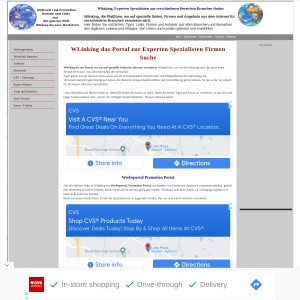 Wlinking, die Plattform verschiedener Branchen, Informationen und Hilfe