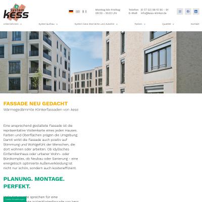 Wärmegedämmte Klinkerfassaden für Ihr Haus - Kess-Klinker