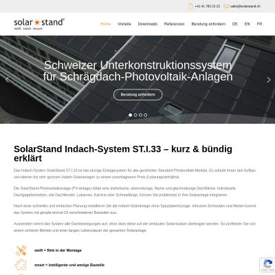 Schweizer Unterkonstruktionssystem für