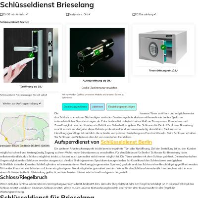 Webpage fair-schluesseldienst.berlin
