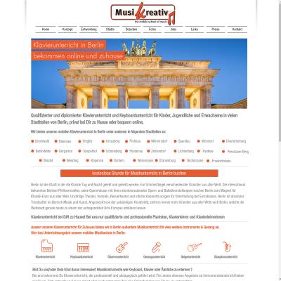 Klavierunterricht in Berlin