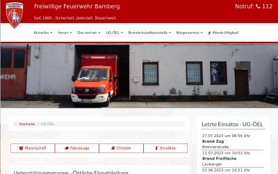 Screenshot www.ug-oeel-bamberg-stadt.de