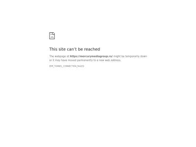 Cайт Mercury Media Group