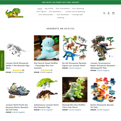 Dinosaurier.store