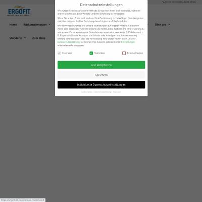 Skoliose-Matratze